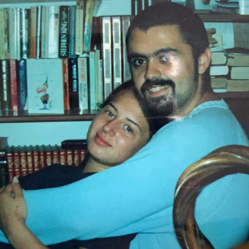 Yoel and Adel before they were married